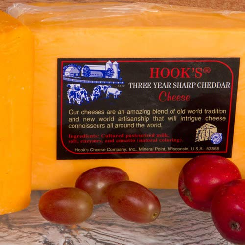 Igourmet Cheddar - igourmet Hook's 3 Year Sharp Cheddar (7.5 ounce)