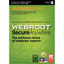 WEBRC Webroot SecureAnywhere  Antivirus 2013  (3-Users)