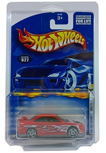 Hot Wheels 2001 First Editions Honda Civic Si 15/36 with Protective Collectors Case