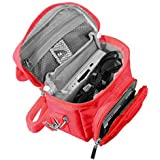 Orzly High Quality Multi Folding   ds Versions with Screen Protector for Nintendo DS (Fits: Shoulder Bag DS/DS Lite/3DS/3DS XL/New New 3DS XL/3DS/2DS XL Portable Bag with Carry Handle and Adjustable Shoulder Strap + Belt Clip–Red