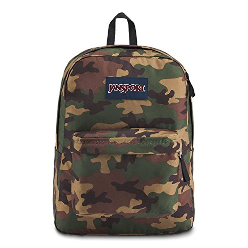 JanSport JS00T5014J9 Superbreak Backpack, Surplus Camo by JanSport