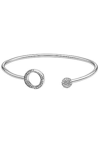 JETTE Silver Damen-Armreif 925er Silber 97 Zirkonia One Size, silber ... 7d4117dd1d