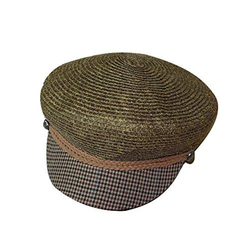 Chameau Femme Octogone Chapeau Mode Plate Voyage Paille Acvip Casquette qdAw8qU