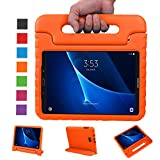 NEWSTYLE Samsung Galaxy Tab A 10.1 Kids Case - Shockproof Light Weight Protection Handle Stand Case for Samsung Galaxy Tab A 10.1 Inch (SM-T580/T585) Tablet 2016 Release Orange Not Fit Other Models