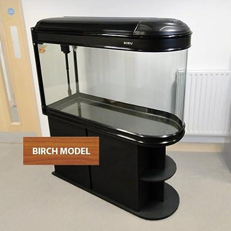 Boyu Fish Tank Acuario Tropical con Forma de Bala 374L 125 cm - Iluminación LED: Amazon.es: Productos para mascotas