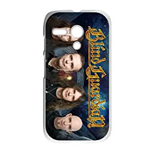 Motorola G Cell Phone Case Covers White Blind Guardian R3355207
