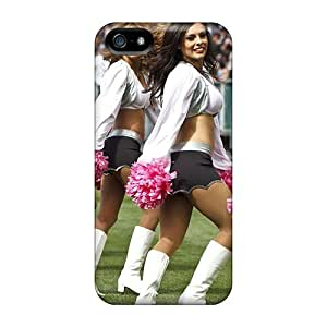 Quality Mialisabblake Case Cover With Oakland Raiders Cheerleaders 2013 Calendar Nice Appearance Compatible With Iphone 5/5s