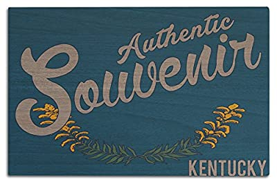 Visited Kentucky - Authentic Souvenir (Wood Wall Sign, Wall Decor Ready to Hang)