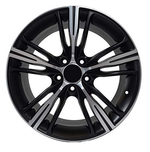 A06MTT - 18 inch MATTE BLACK Rims fits BMW 325is Coupe RWD 18x8 5x120 ET30 CB72.56