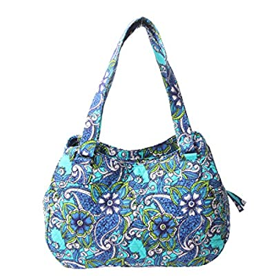 Quilted Cotton Handle Bags Shoulder Bag