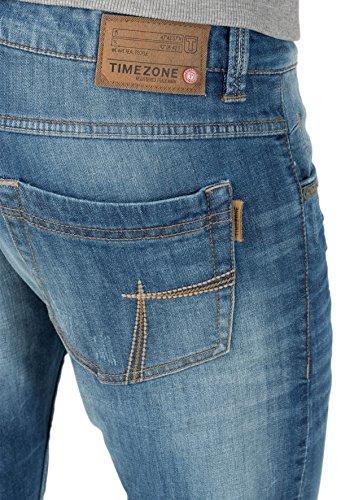 Wash Uomo Slim Blu Eduardotz 3197 Jeans used Timezone Blue 0CZwqtqa