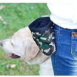 Xiaolanwelc@ Pet Dog Training Bags Camouflage