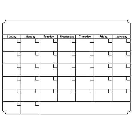 Brussels08 - Calendario mensual magnético para nevera, calendario ...