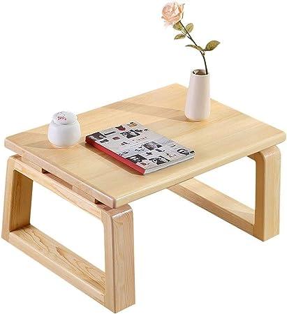 Muebles y Accesorios de jardín Mesas Sala de Mesa de café de Madera Multi-función de
