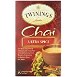 Twinings Teabags Chai Ultra Spice, 20ea (Pack of 6)