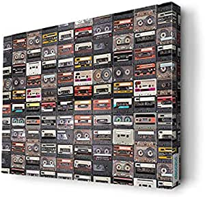 Cassette Music Wall Canvas by Decalac,60X 45cm - 19055