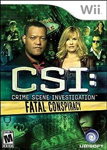 CSI: Fatal Conspiracy - Nintendo Wii