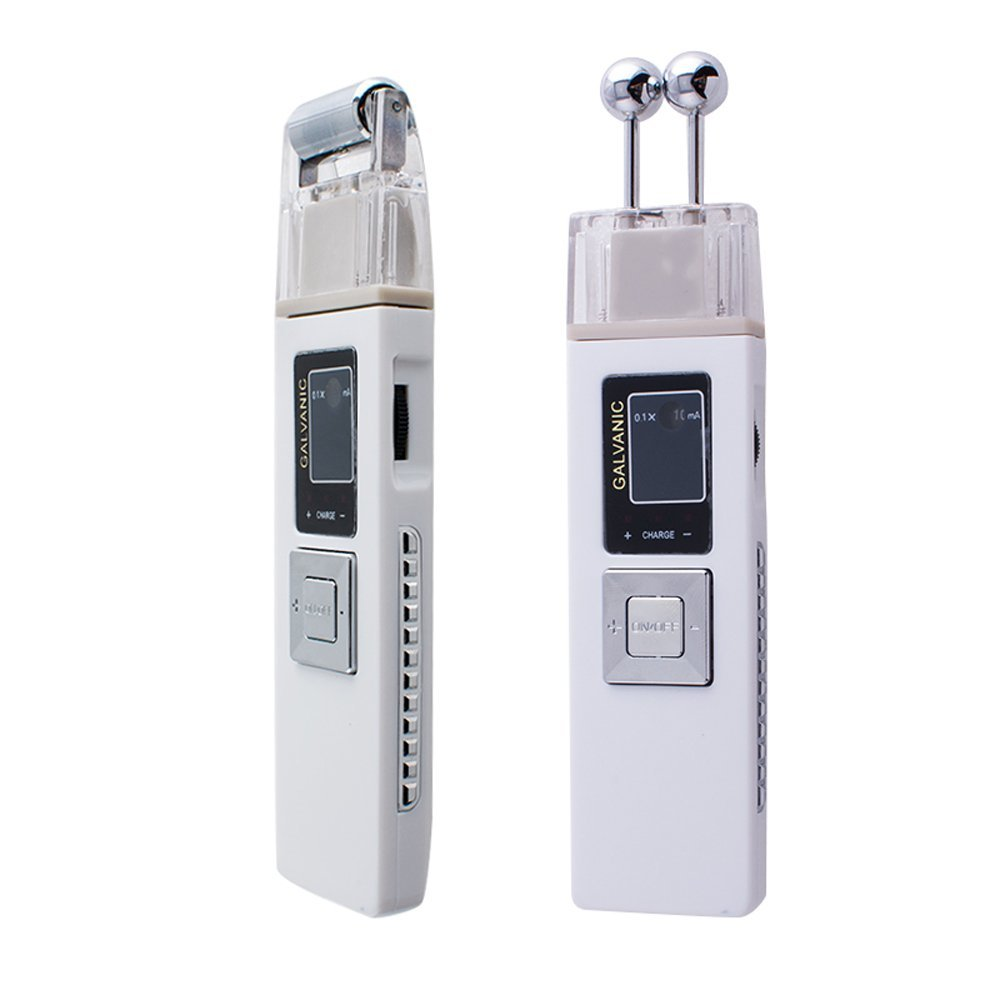 Pevor Portable Galvanic Microcurrent skin firming Anti aging Massager Facial Skin Care Clean Skin Care Spa Salon USA Shipping