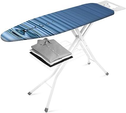 Metaltex Orione - Tabla de Planchar, Tapizado Agua, 123x36cm ...