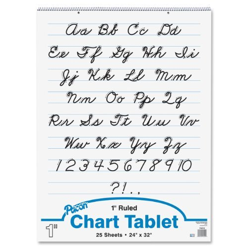 Pacon Chart Tablet, 24''x32'', 25 Sheets/Tablet by Pacon