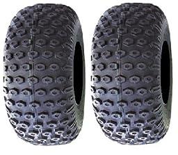 Pair of Kenda Scorpion (2ply) ATV Tires [20x10-8] (2)