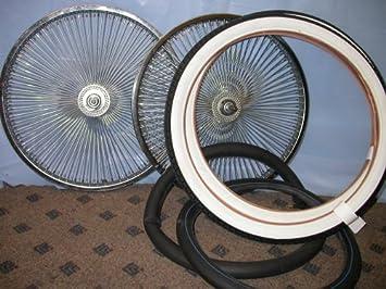 Lowrider Wheel Set 20in 144 Spoke 14g Bike Wheels