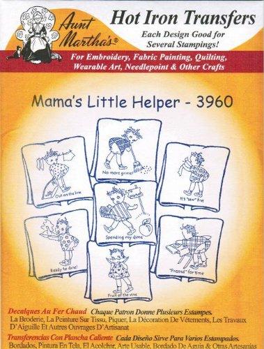 Mama's Little Helper Aunt Martha's Hot Iron Embroidery (Little Helper Iron)
