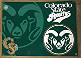 Colorado State Rams NCAA State Shaped Street Sign