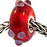 Authentic Trollbeads Glass 61336 Summer Bud