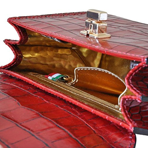 K280 20 King Lucignano Ciliegia donna Pratesi da borsetta Marrone BnwXTnqI
