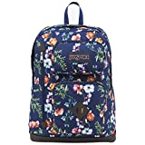 JanSport Mens Classic Mainstream Austin Backpack - Multi Navy Mountain Meadow / 17.7H X 12.8W X 5.5D