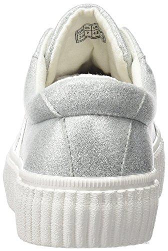 COOLWAY Cherry, Zapatillas para Mujer Gris (Grey)