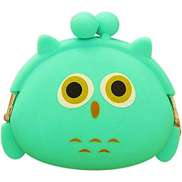 micrkrowen Childrens Cartoon Messenger Bag Purse(Brown)