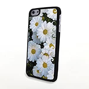 linJUN FENGGeneric PC Phone Cases Charming Liveliy Beautiful Flowers Matte Pattern fit for Colorful Flowery iphone 5/5s Case