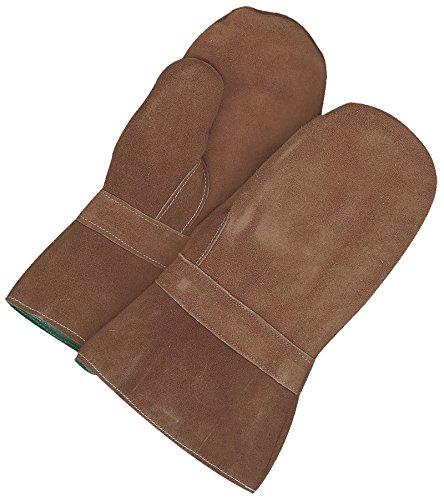 Bob Dale Gloves 639766FLF Hi Heat Split Leather Gauntlet Mitt Banox Lining, by Bob Dale Gloves