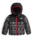 The North Face Toddler Boys Reversible Mount Chimborazo Hoodie White Holiday Fair Isle Print (4 Toddler)
