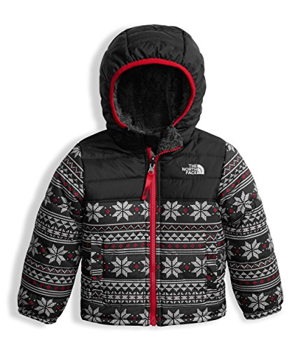 The North Face Toddler Boy's Reversible Mount Chimborazo Hoodie - White Holiday Fair Isle Print - 4T (Past (Horizontal Left Mount)