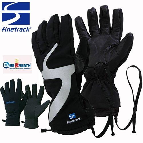 finetrack ファイントラック エバーブレス スノーグローブ 手袋 メンズ (BKGY):FAG0401