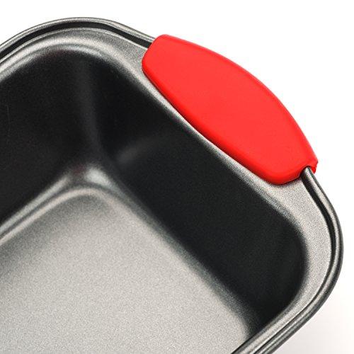 Elite Bakeware 3 Piece NonStick Bread Pan Set - Loaf Pans For Bread - Baking Pans - Bakeware Set by Elite Bakeware (Image #3)