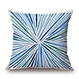 Slimmingpiggy Geometric Pillow Covers 16 X 16 Inches / 40 By 40 Cm Best Choice For Saloon,boys,wedding,bedding,relatives,birthday With 2 Sides