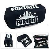 Fortnite Pencil Bag School Boys Pen Box Children Printing Anime Case