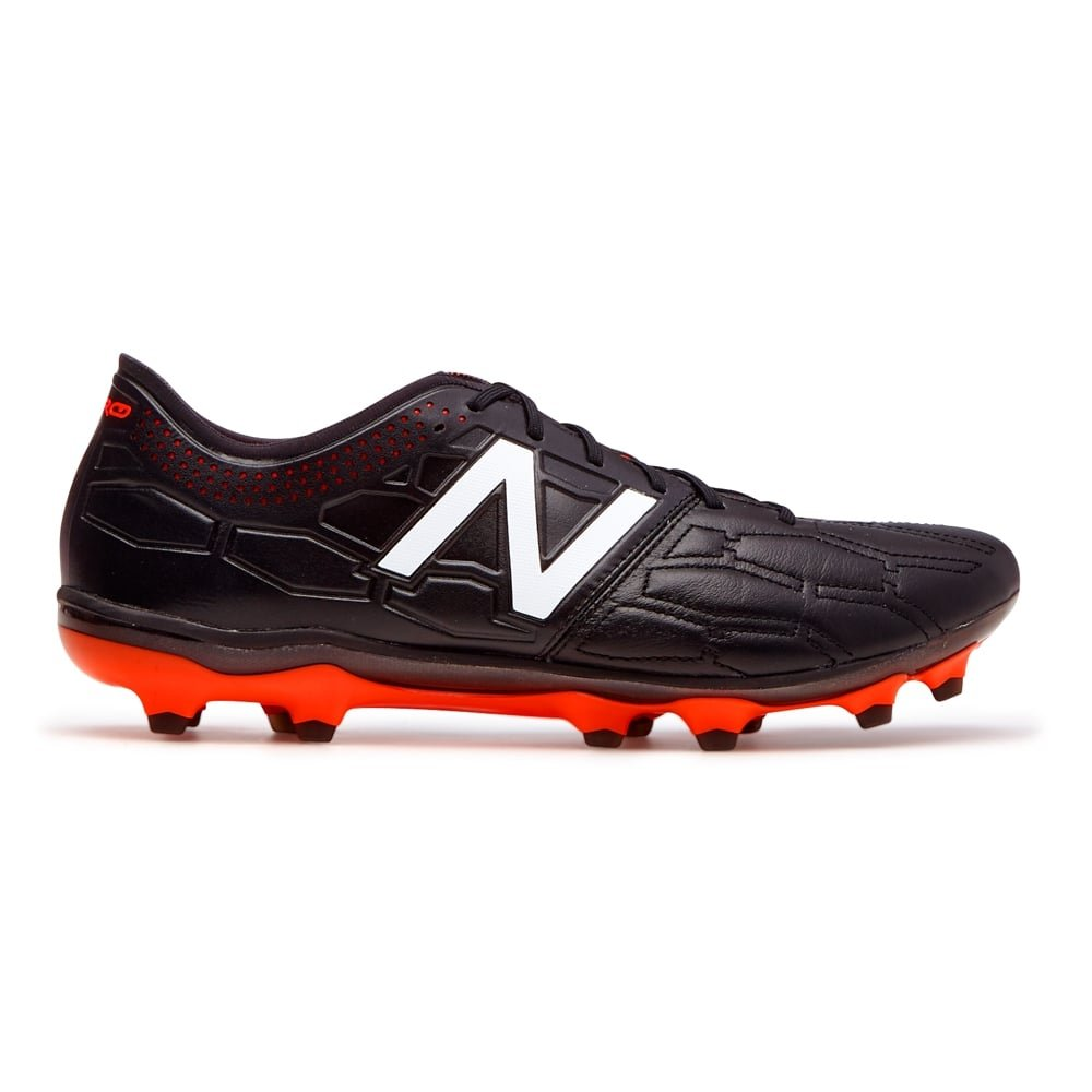 fa2cfbb5006b2 New Balance Visaro 2.0 K Leather FG Football Boots - Black: Amazon.co.uk:  Shoes & Bags