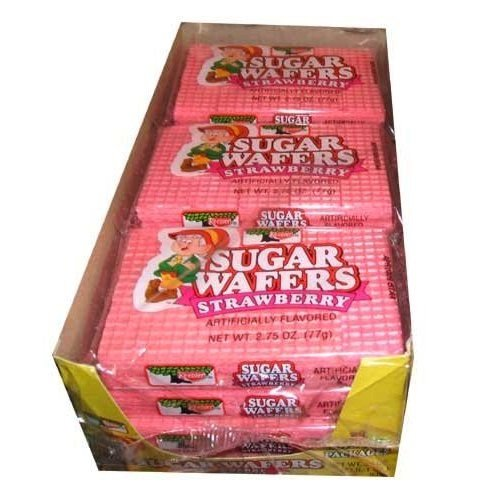 (Keebler Strawberry Sugar Wafers (Pack of 12))