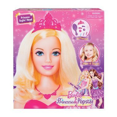 Barbie the Princess and the Popstar Stylin' Head, Baby & Kids Zone