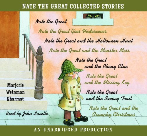 Nate the Great Collected Stories: Nate the Great; Goes Undercover; Halloween Hunt; Monster Mess; Phony Clue; Missing Key; Snowy Trail; Crunchy (Halloween Books On Tape)