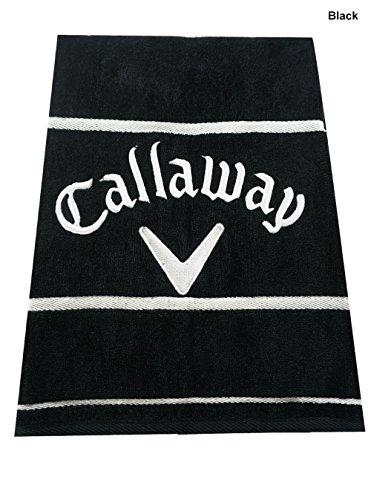 Callaway Golf Towel (Callaway Deluxe Towel (Black, 30