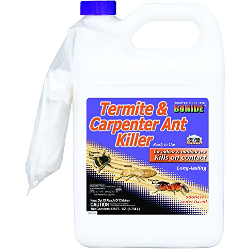 Bonide BND372 Carpenter Ant Killer 03732100 4 Products Ready-to-Use Termite Control, Gallon, 1 gal