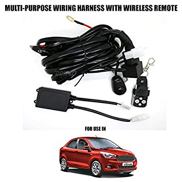 volga multi purpose wiring harness with wireless remote control