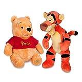 Winnie the Pooh and Tigger Plush 14 Medium Combo Set
