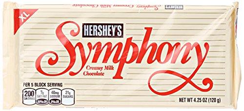 Hershey Company Symphony XL Creamy Milk Chocolate Bar, 4.25 oz
